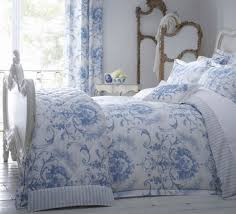 bed covers for victorian beds exceptional dorma blue toile
