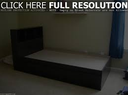 Twin Headboard Plans by Twin Bed With Storage Plans Home Design Ideas