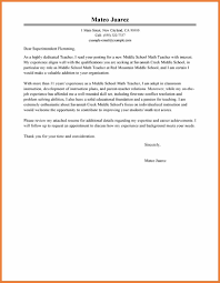cover letter math teacher sample of a cover letter sop proposal