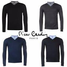 pierre cardin acrylic v neck jumpers u0026 cardigans for men ebay