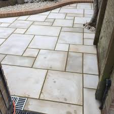 Indian Sandstone Patio by Patios Abacus Paving Patios And Driveways