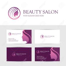 Makeup Business Cards Designs Business Card Design Template For Beauty Or Hair Salon Spa