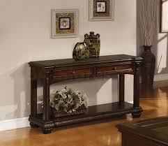 Half Moon Sofa Tables by Awesome Sofa Table With Storage Drawers 17 With Additional Half