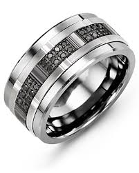 wide wedding bands black diamonds wide wedding band madani rings