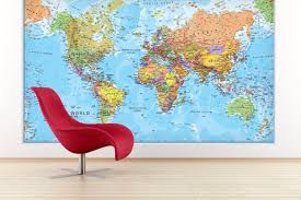 world map with country names contemporary wall decal sticker 37 eye catching world map posters you should hang on your walls