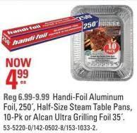 steam table pans for sale handi foil aluminum foil half size on sale salewhale ca