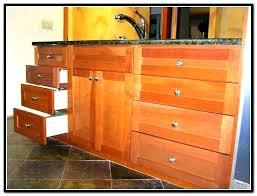 unfinished blind base cabinet kitchen base cabinets all drawers unfinished with blind corner