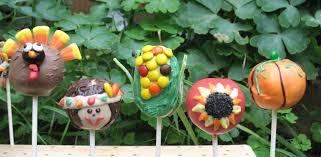 thanksgiving cake images animal cake pops sweetthingz