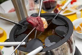 cuisiner viande à fondue bouillon de fondue chinoise