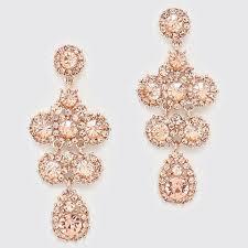 gold bridal earrings chandelier chandelier bridal earrings gold chagne