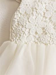 flower dress ivory lace dresses for girls girls party