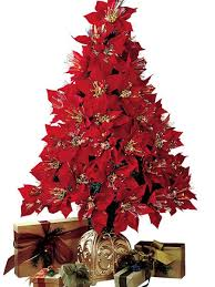 fiber optic christmas decorations fiber optic poinsettia tree norm thompson