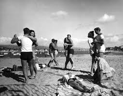 vintage spring break southern california beach vacation 1947