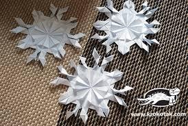 krokotak paper snowflakes