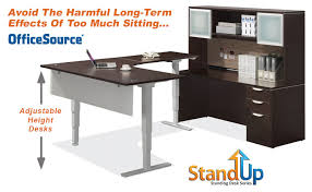 Stand Up Reception Desk Officesource Office Furniture