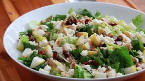 recipe thanksgiving pear and feta chopped salad