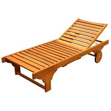 wood chaise lounge outdoor furniture timber pool loungers wooden