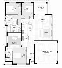 bungalow floor plan 3 bedroom bungalow house plans nigeria best of apartments floor plan