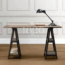chevalet de bureau meubles de cagne française vintage bois ordinateur bureau bureau