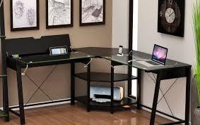 desk corner gaming computer desk awesome l shaped gaming desk l