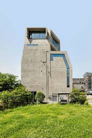 owl shaped concrete house in south korea u2013 fubiz media