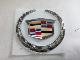 cadillac cts emblem buy a genuine gm 2004 2006 cadillac cts v grille emblem wreath