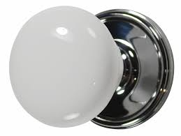 Glass Door Knobs And Hardware by Builder Special Single Dummy Fluted Glass Door Knob Brushed Nickel