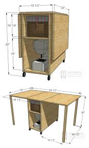 Sewing Machine Cabinet Plans by Best 25 Craft Tables Ideas On Pinterest Craft Room Tables Desk
