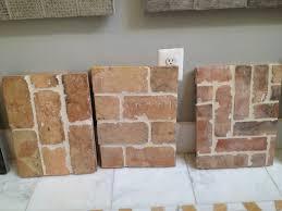 brick looking tiles diy bricks brick