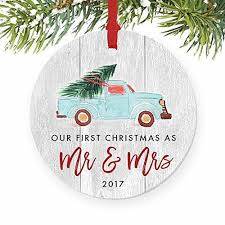 newlywed ornament 2017 as