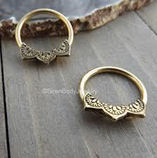 gold nipple rings images Gold nipple piercing hoops 14g captive bead rings mandala design body png