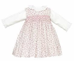 anavini girls pink floral corduroy jumper dress
