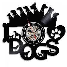 themed clocks dog themed clocks webnuggetz