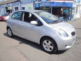 used toyota yaris t spirit for sale motors co uk