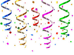 party streamers party streamers stock illustration illustration of gift 13042878