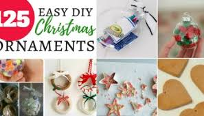 easy diy ornaments that can make eat drink and save money