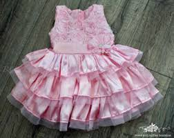 pink dress for wedding pink baby dress etsy