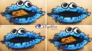 halloween cookie monster cookie monster lips tutorial by eyedolize makeup youtube