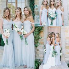 discount bridesmaid dresses bridesmaid dresses 2017 blue chiffon ruched the