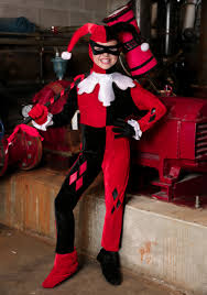 harley quinn jumpsuit child harley quinn jumpsuit costume