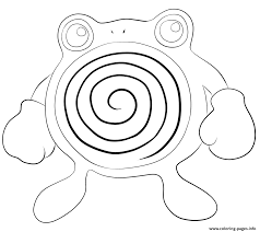 pokemon coloring pages lucario 061 poliwhirl pokemon coloring pages printable