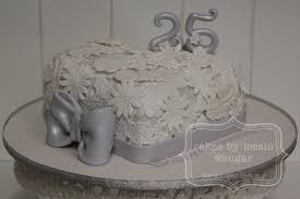 penang wedding cakes by leesin 25th wedding anniversary cake