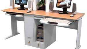Ikea Fredrik Desk Instructions Bi Level Computer Workstation Desk Afcindustries Intended For