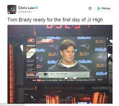 New Haircut Meme - tom brady shows off his new haircut at press conference and is