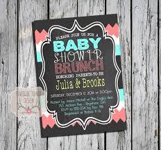 coed baby shower coed baby shower picture ba shower brunch invitation ba brunch