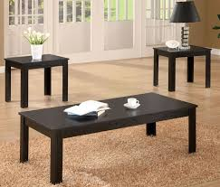 Affordable Coffee Tables Solid Wood Top 3 Occasional Set By Coaster Furniture