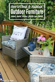 Cleaning Outdoor Furniture by Outdoor Cleaning Tips May Hod Clean And Scentsible
