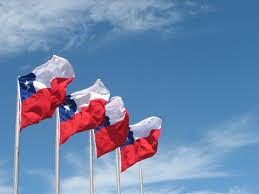 Flags In File Chile Flags In Puerto Montt Jpg Wikimedia Commons