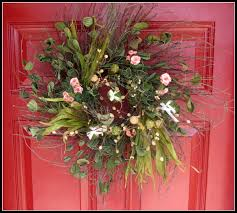 spring wreaths for front door free giveaway contest custom made spring blessings wreath amy