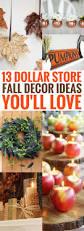 13 dollar store fall decor ideas you u0027ll go gaga over crafts on fire